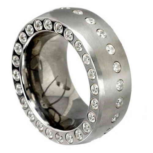 Duo-Memoire Ring 11 mm Zirkonia