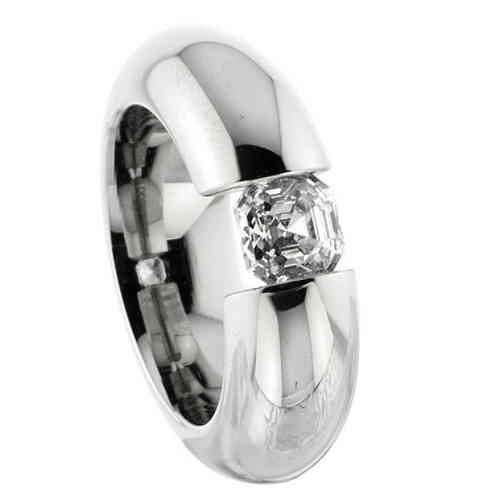 Spannring 8,0 mm Zirkonia Spidercut