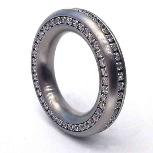 Reifring Duo-Memoire - 5,5 mm - Zirkonia