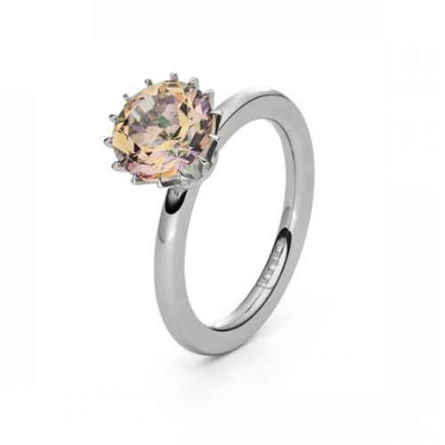 Solitaire Ring - Cocktailring - Topas Light Hazel